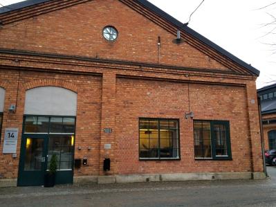 Lokalen Hörsalen, entre