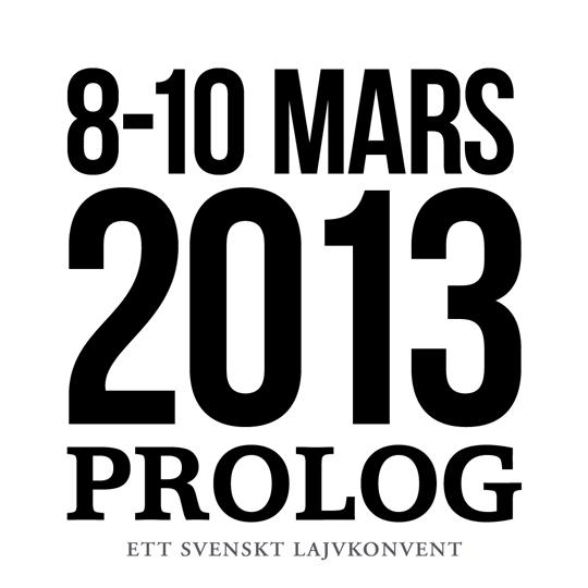 Prolog 2013 - 8-10 Mars