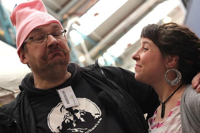 Anders och Elli Foto: Olle Sahlin