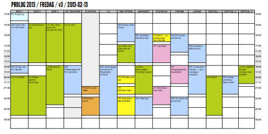 Prolog 2013 - Schema - Version 3