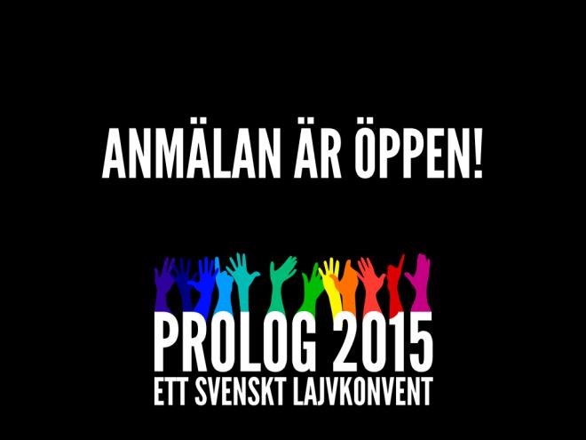 Prolog 2014 - Anmälan är öppen