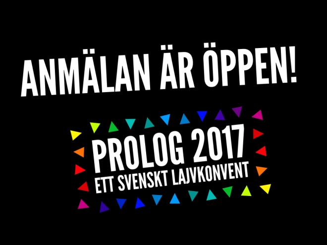 Anmälan till Prolog 2017 är öppen!