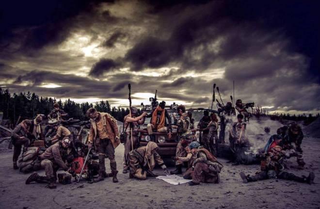 Maskinhundarna på lajvet Blodsband Reloaded. Foto: Sabina Sonning